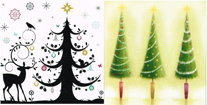 Our chosen Christmas card designs