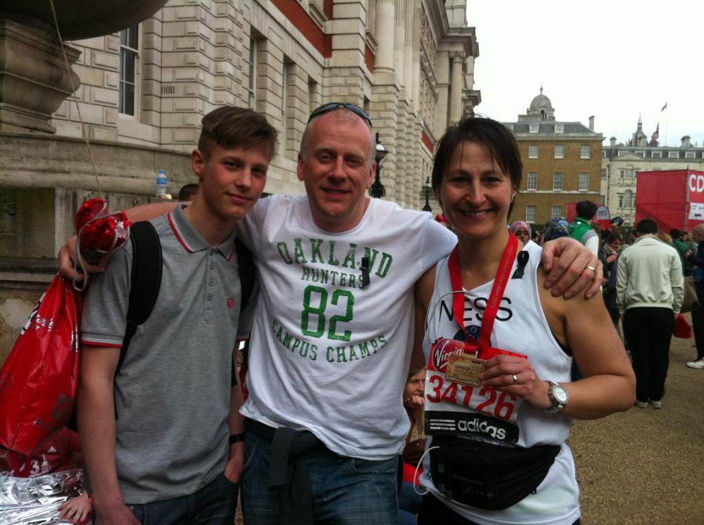 Vanessa Keates and family