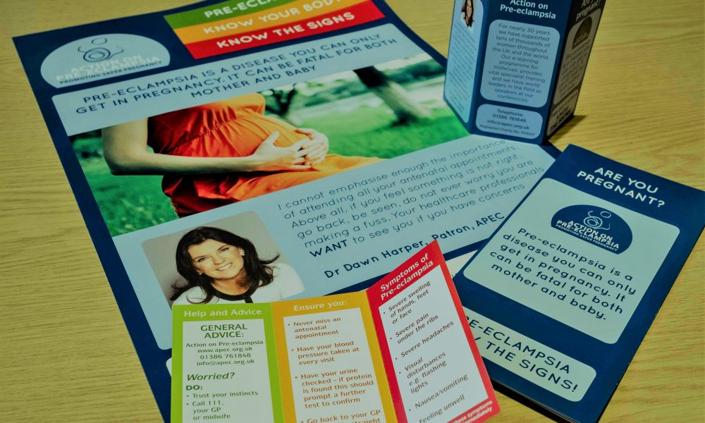 Pre-eclampsia: Know the Signs leaflets now available - Action on Pre