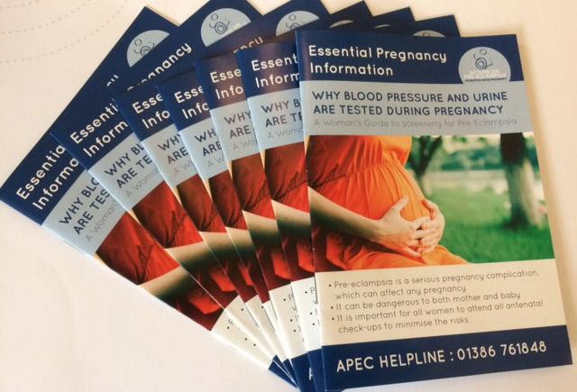 Pre-eclampsia Information Leaflets